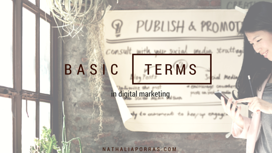 Key digital marketing terms to get started with